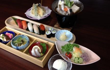 昼御膳 寿司懐石